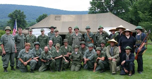 GROUP SHOT OF ATTENDDESS, SOME ARE NOT 1st DIVISON MEMBERS